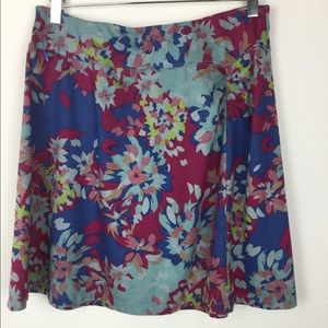 REI Northway floral skirt size L